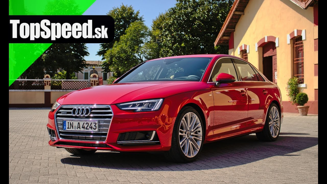 Prvá Jazda Audi A4 B9 201 Topspeedsk Youtube
