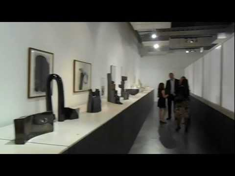 "Gordon Baldwin "" Objects for a Landscape"" opening night at the NCCD the Hub 19..10..2012 ""HD"""