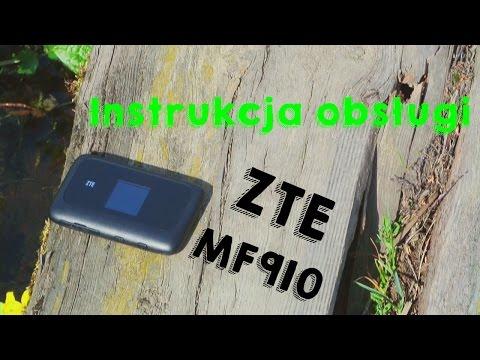 Instrukcja obsługi routera ZTE MF910.