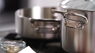 Pork Chops & Potatoes in Williams-Sonoma Stainless-Steel Cookware