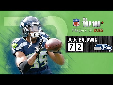 #72: Doug Baldwin (WR, Seahawks) | Top 100 NFL Players of 2016
