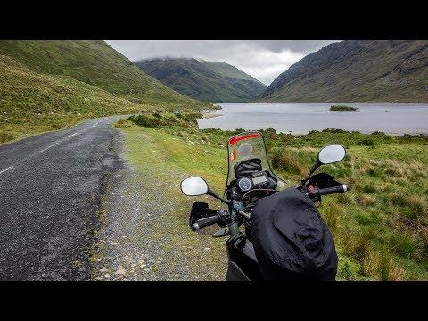 Yamaha XT660Z In Ireland & Scotland - Connemara Park And Wild Atlantic Way - Part 12
