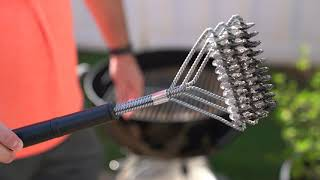 A Safer Grill Brush
