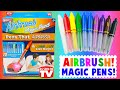 Airbrush MAGIC Pens! As Seen on TV! Does It Work?