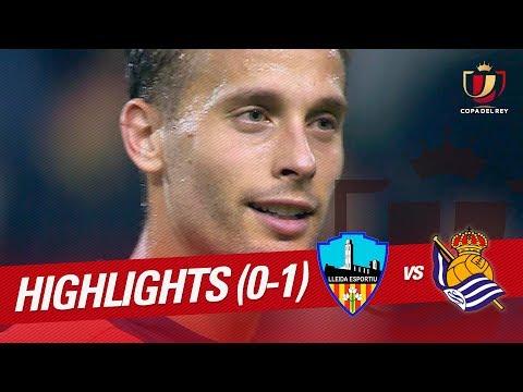Resumen de Lleida Esportiu vs Real Sociedad (0-1)