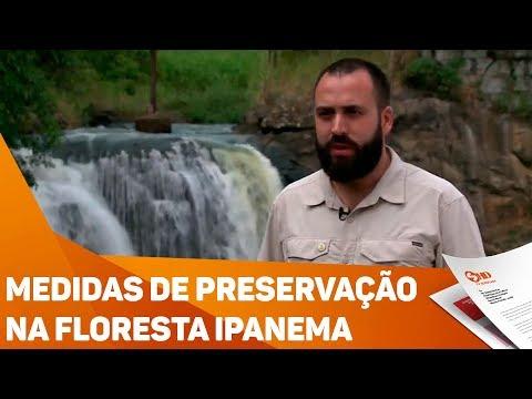 Medidas de preservação na floresta Ipanema - TV SOROCABA/SBT