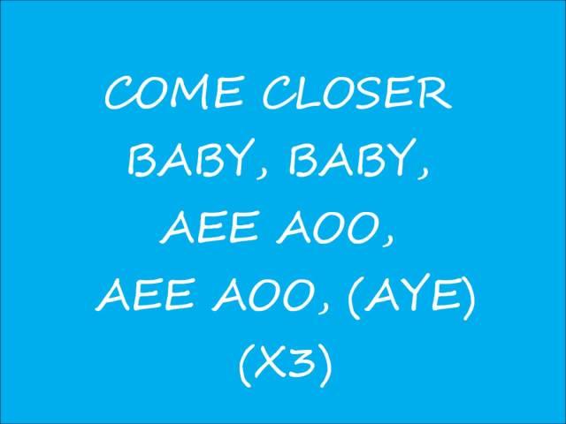 come closer baby