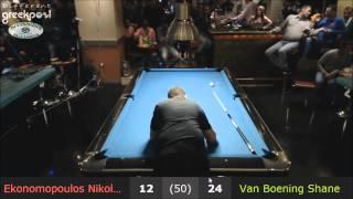 Nick Ekonomopoulos VS Shane Van Boening 10-Ball Challenge