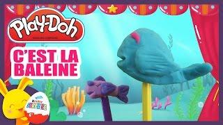 C'est la baleine - Comptine en pâte à modeler Play-Doh - Titounis