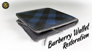 ASMRㅣBurberry Wallet Restorati…