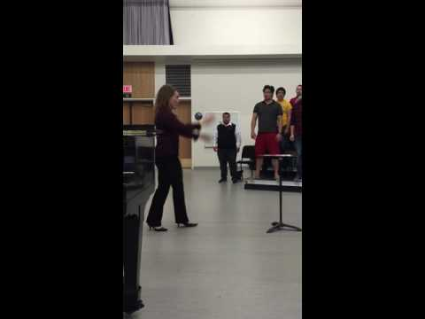 UW Choral Music Director Becomes Record Setting Power Lifter