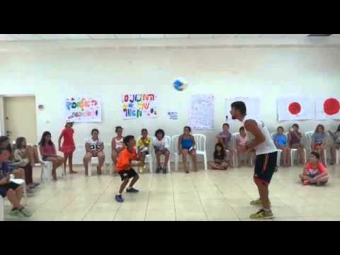 Visitando un colegio en Israel
