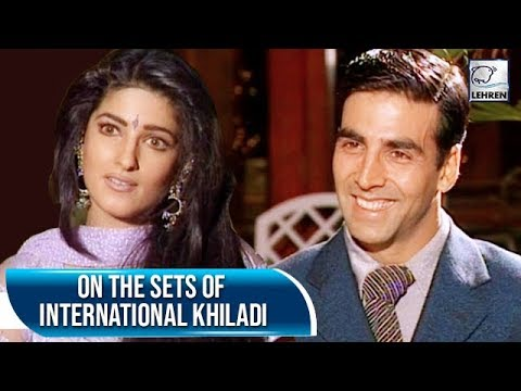 When Twinkle Khanna Was All Praises For Akshay Kumar | International Khiladi | Flashback Video