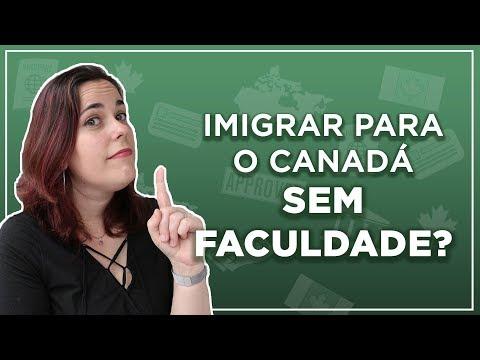 DÁ PARA IMIGRAR PARA O CANADÁ SEM DIPLOMA DE FACULDADE? + Promoção Black Friday