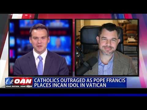 Catholics outraged as Pope Francis places Incan idol in Vatican