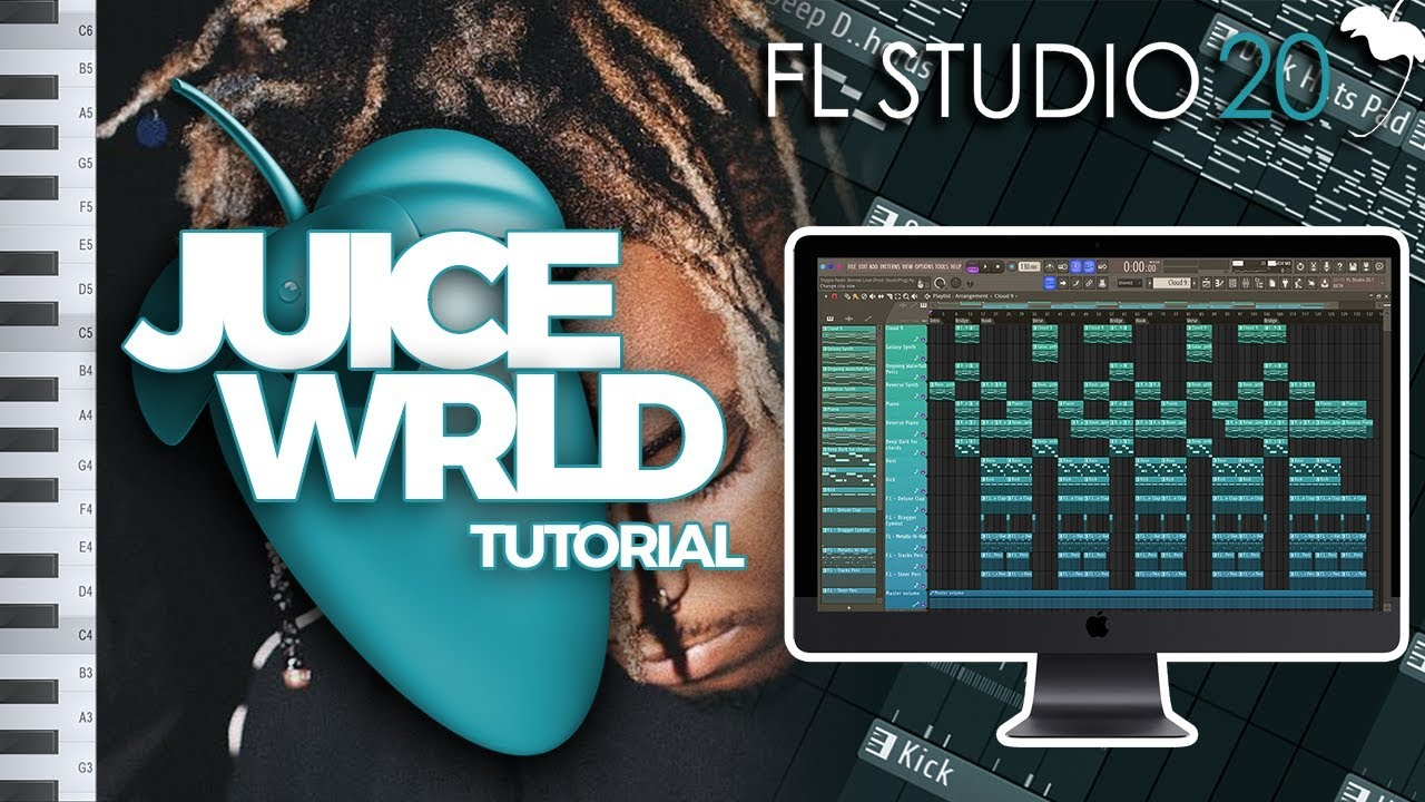 How To Make A MELODIC JUICE WRLD BEAT From SCRATCH In FL STUDIO | Melody &  Sound Selection Tutorial