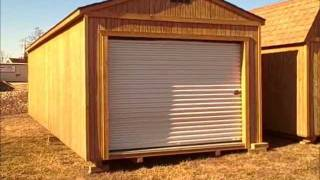 Derksen Portable Buildings 12x32 Portable Garage