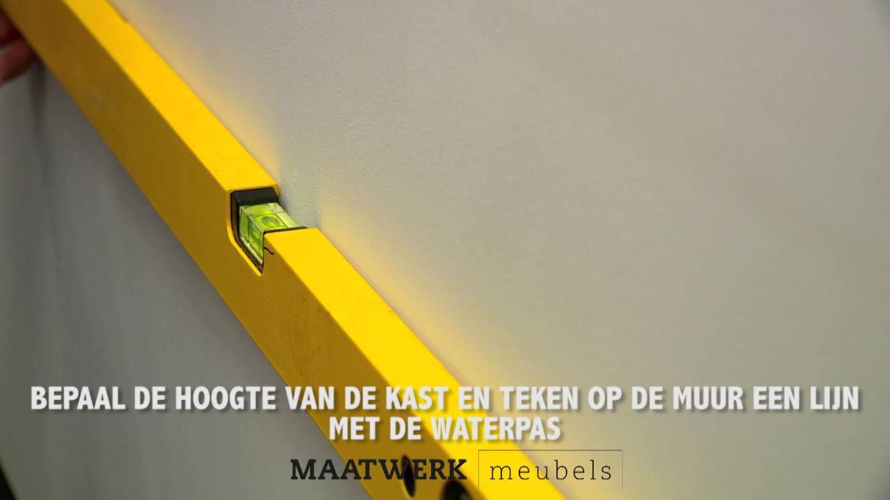 Instructie Film Montage Tv Kast Aan De Muur