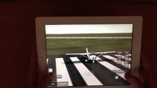 Infinite Flight Take-off with Cessna 172 on iPad
