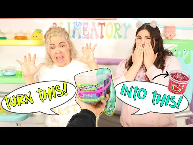 TURN THIS INTO THIS SLIME CHALLENGE! Slimeatory #586