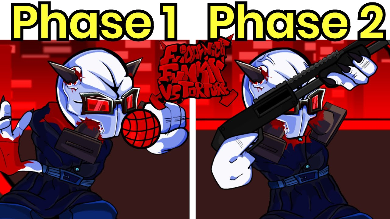 Vs MAG Agent: Torture (Phase 1 & Phase 2) DEMO Released - Friday Night Funkin' Madness Combat Mod - download from YouTube for free