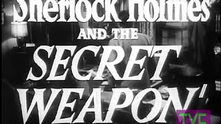 Sherlock Holmes and the Secret Weapon (1942) TRAILER