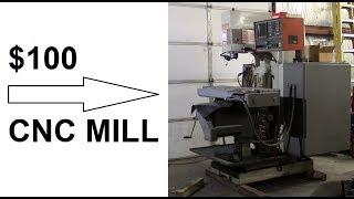 $100 CNC Mill