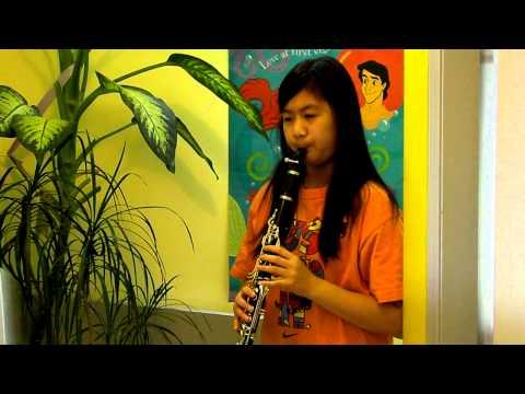 Australian National Anthem  Advance Australia Fair  Clarinet With Notes