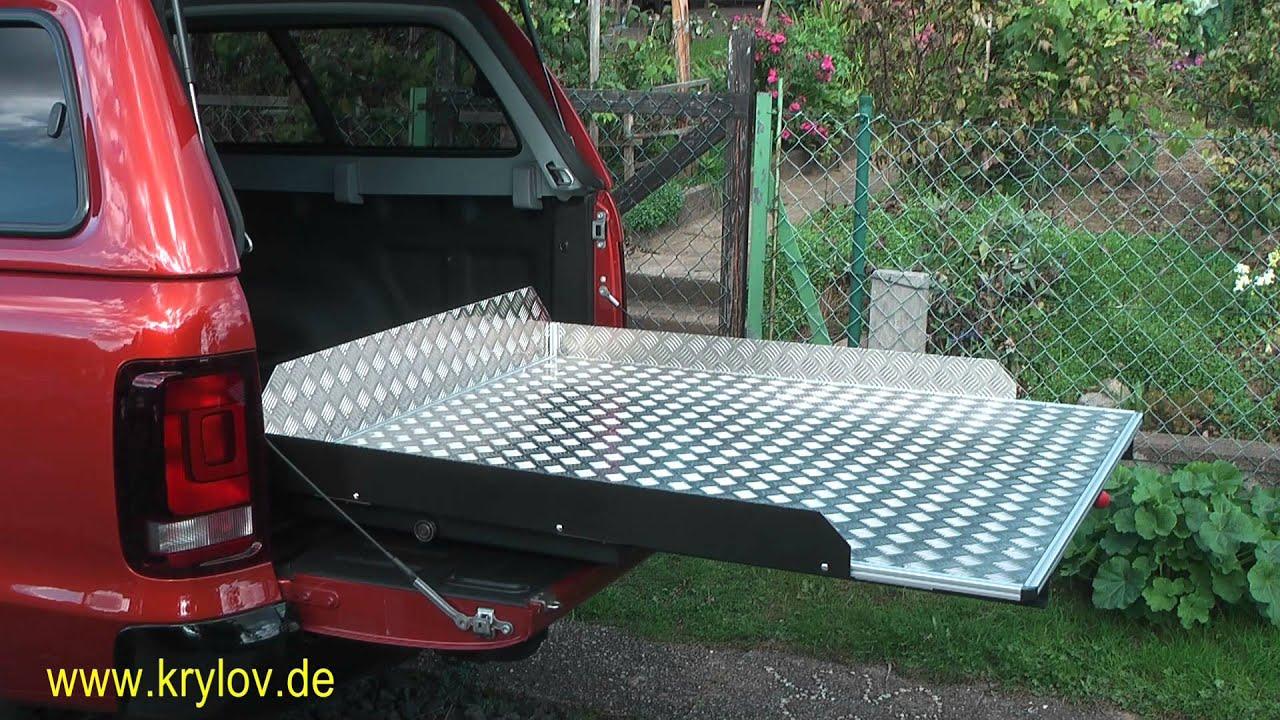 VW Amarok DoubleCab - Ausziehbare Ladefläche - www krylov ...