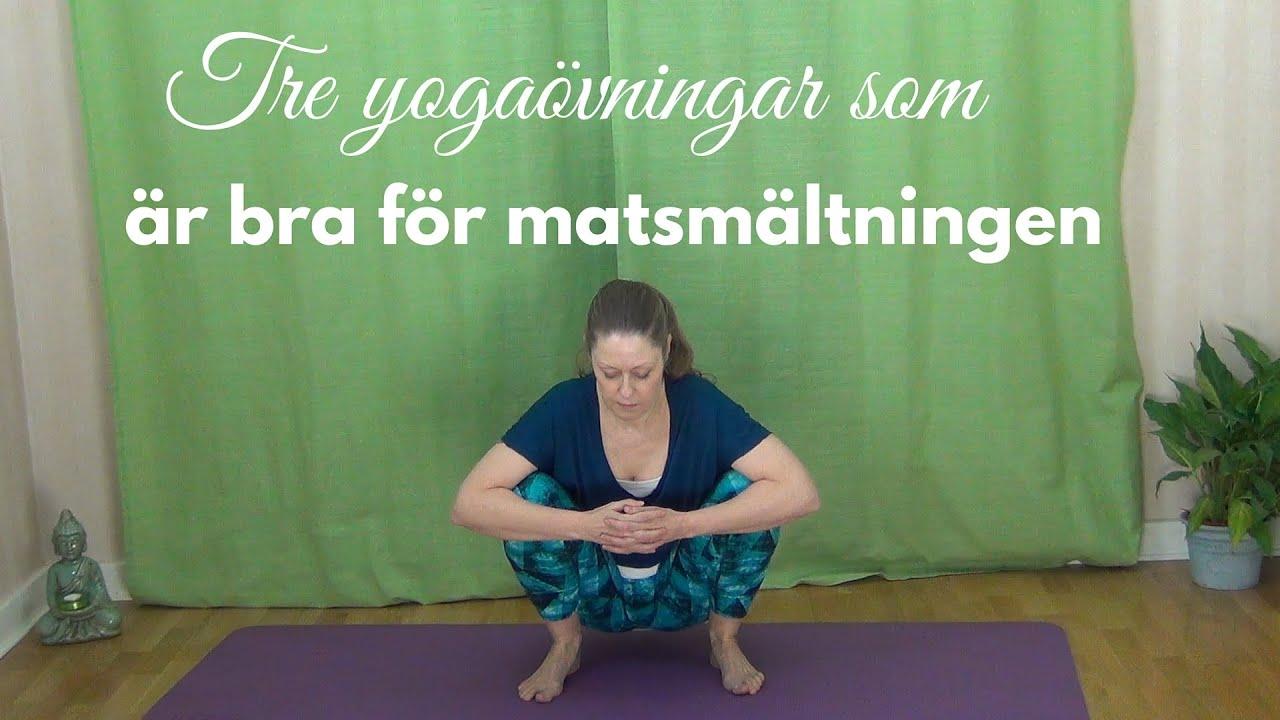 yoga för matsmältningen