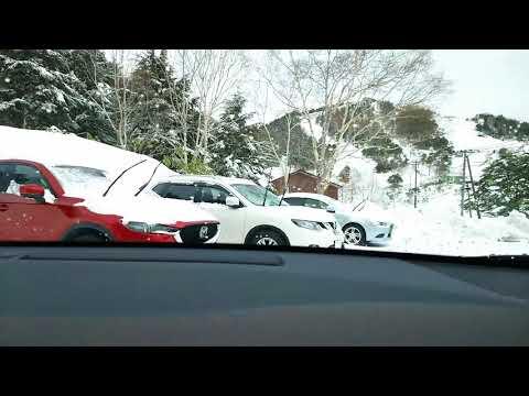 180109 C-HR HV 万座温泉周辺 小雪