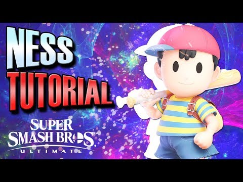 Smash Ultimate: Ness Competitive Tutorial
