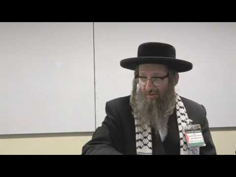Anti Zionist Rabbi lecturing at University in Chile   Q&A Spanish English