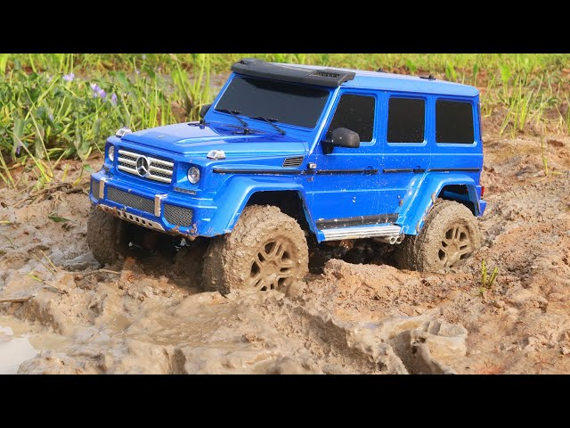Mud Race Rc Car - Swamp Water Off Road with Traxxas TRX4 G500