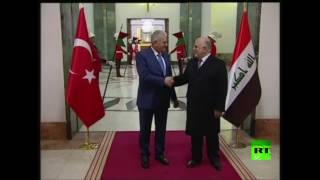 يلدريم يقوم بزيارة رسمية إلى العراق