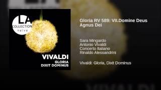 Gloria RV 589: VII.Domine Deus Agnus Dei