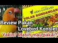 Review Racikan Pakan Lovebird Konslet Yang Lagi Viral  Mp3 - Mp4 Download