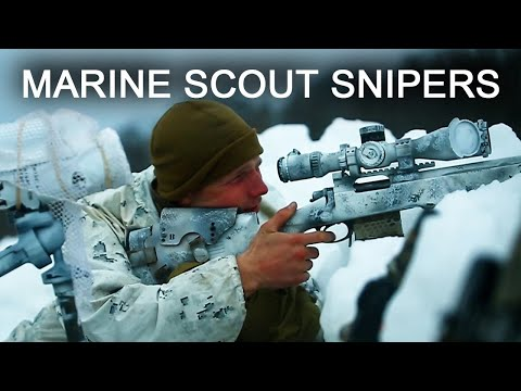 Behind the Scenes of Marine SCOUT SNIPERS