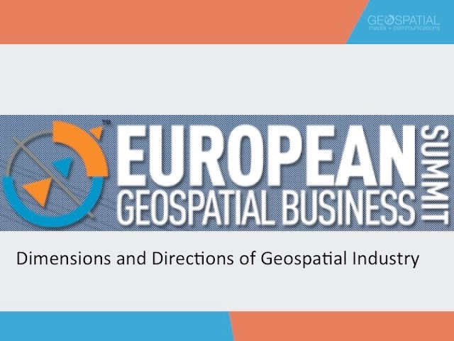 Dimensions and Directions of Geospatial Industry