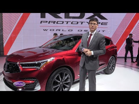 Acura RDX Prototype: Updated Top to Bottom – Cars.com