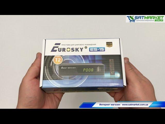 Видео обзор Eurosky ES-15