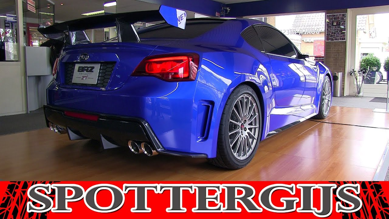 Subaru brz sti concept in depth tour first time in the subaru brz sti concept in depth tour first time in the netherlands youtube vanachro Image collections
