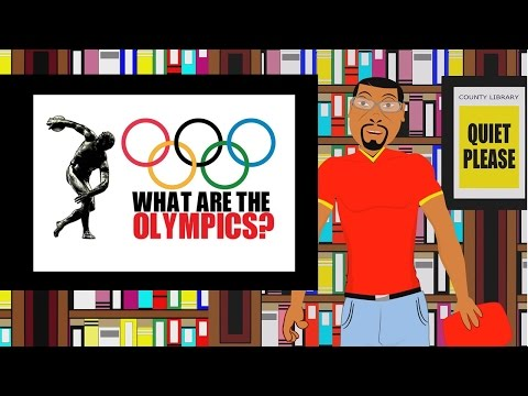 What are the Olympics? (Educational Cartoon for Kids on the Olympics) 2016