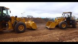 Demo show SEM-Chinese road construction equipment