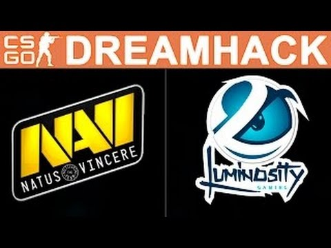 Natus Vincere vs Luminosity (MAP 1) DreamHack ZOWIE Open Leipzig 2016 GRAND FINAL
