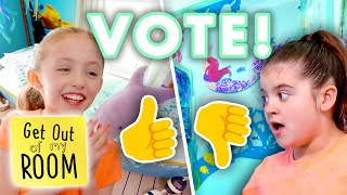 VOTE FOR YOUR FAVORITE: Ocean Room or Mermaid Room?   | Universal Kids
