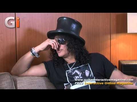 Slash Interview - Guitar Interactive Magazine Issue 11