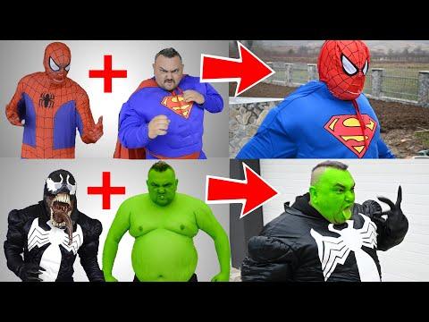 Superheroes Get Mixed