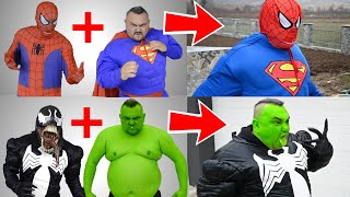 Superheroes Get Mixed