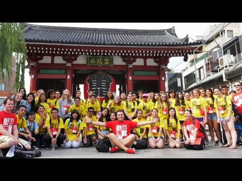 TUJ High School Summer Program in Tokyo, Japan (2016 Highlights)
